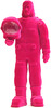 Astronaut Jesus - Pink Flocked