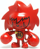 Ninja Spiki - Lucky Cat Red