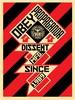 Constructivist Banner - Black
