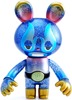 Lucha Bear - Kaiju Blue