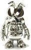 Skull Bee - Silver All Starz