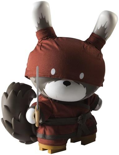 Raku_night_-_red-huck_gee-dunny-kidrobot-trampt-9206m