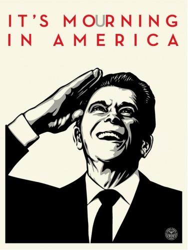 Its_mourning_in_america-shepard_fairey-screenprint-trampt-10102m