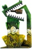 Amandamaculus Pygmy Beer Gator - Green