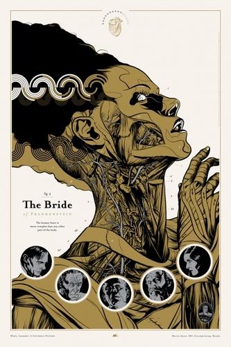 The_bride_of_frankenstein-martin_ansin-screenprint-trampt-11115m