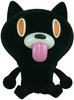 Cheeky Mao Cat - Black Flocked