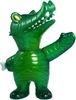 Mummy Gator - Green Glitter