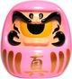 Fortune Daruma - Pink w/ Gold