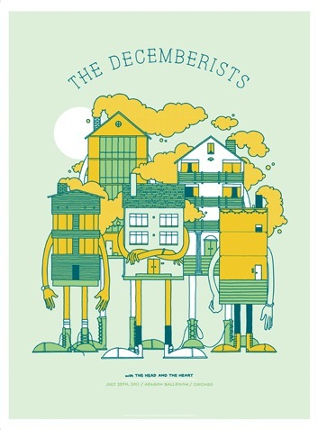 The_decemberists_-_home_invasion-invisible_creature-screenprint-trampt-12350m