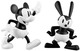Mickey Mouse & Oswald The Lucky Rabbit - Set