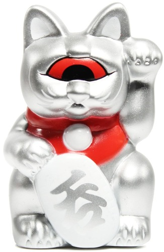 Mini_fortune_cat_-_silver_w_red_eye-realxhead_mori_katsura-mini_fortune_cat-realxhead-trampt-14262m