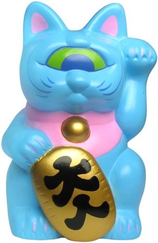 Mini_fortune_cat_-_light_blue-realxhead_mori_katsura-mini_fortune_cat-realxhead-trampt-14264m