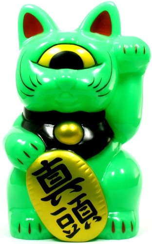 Mini_fortune_cat_-_green-realxhead_mori_katsura-mini_fortune_cat-realxhead-trampt-14292m
