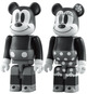 Mickey & Minnie Mouse Mono - Set