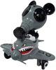 Mousemask Murphy in Airplane - Shark Teeth GY!