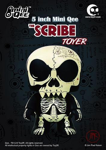 The_scribe-jon-paul_kaiser-mini_monqee_qee-toy2r-trampt-15276m