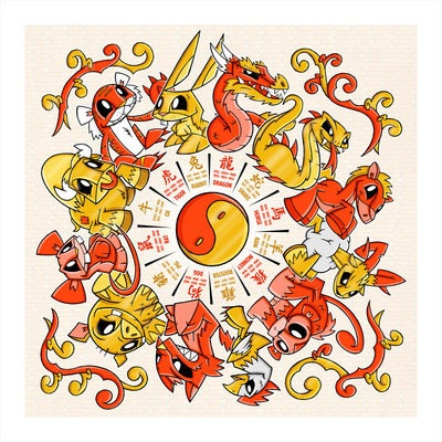 Joe_ledbetters_chinese_zodiac_limited_edition_giclee_print-joe_ledbetter-heavy_stock_archival_paper-trampt-15730m