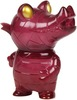 Pocket Mummy Gator - Translucent Maroon