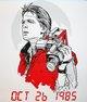Marty McFly Handbill