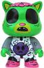 oHIya Friends - Green Cat