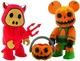 Devil Pigee & Pumpkin Bear (Set) - Halloween 2007