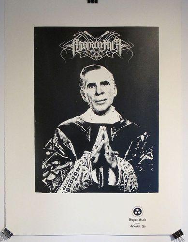 Asspanther_eucharism_poster-abe_lincoln_jr-screenprint-trampt-22393m