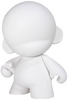 "Mini Munny 4"" - White/DIY"