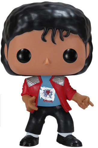 Michael jackson beat it pop vinyl by funko fro for Three jackson toy