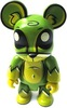 Toxic Swamp Bear Qee - Green 2.5""