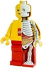 Lego man - Dissected