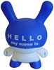 Hello My Name Is (HMNI) - Blue