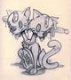 Misfortunate Cat Sketch