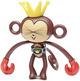 HA-CHOO Monkey - Brown
