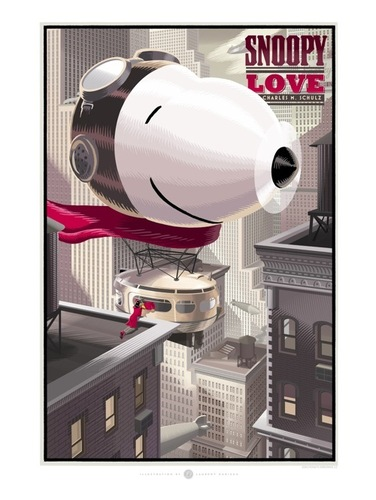 Snoopy_love-laurent_durieux-gicle_digital_print-trampt-31907m