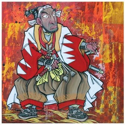 Samurai_preparing_to_draw_his_sword-josh_taylor-gicle_digital_print-trampt-37443m