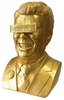 Gipper Reagan Bust - Gold