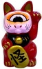 Fortune Cat - Dharma Red