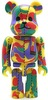 Bape Play Be@rbrick - Psychedelic Camo