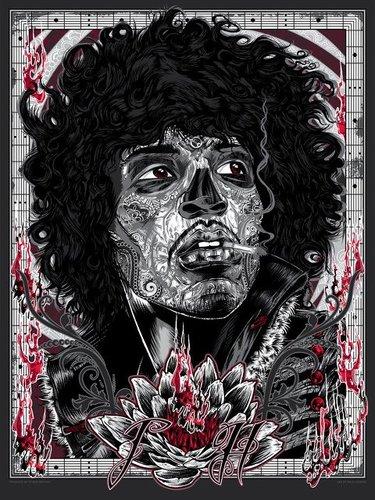 The_voodoo_child-rhys_cooper-screenprint-trampt-43481m