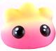 Easter Pocket Pork Dumplings - Yellow/Pink (eyes)