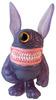 Purple Pearl Meatster Bunny