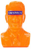 Gipper Reagan Bust - Orange