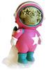 Dum English Astronaut Skull Star - Pink