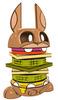 Veggie Burger Bunny