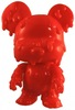 Melting MiniBear Qee - Red/DIY