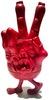 """The Weird Hand Monster of S""""K""""UM-kun - Red"""