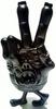 """The Weird Hand Monster of S""""K""""UM-kun - Black"""