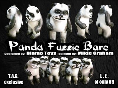 Panda_fuzzie-zombiemonkie_mikie_graham-fuzzie_bare-blamo_toys-trampt-56467m
