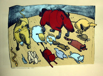 The_animals_of_prince_edward_island-jay_ryan-screenprint-trampt-58537m