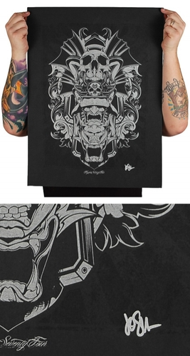 Samurai-hydro74-screenprint-trampt-58882m